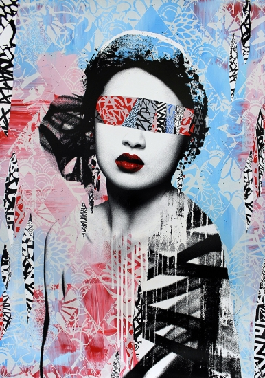 Trials And Errors Hand Painted Artist Proof By Hush