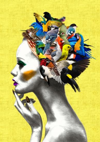 Bird Girl By Ellie Vandoorne Buy Affordable Art Online