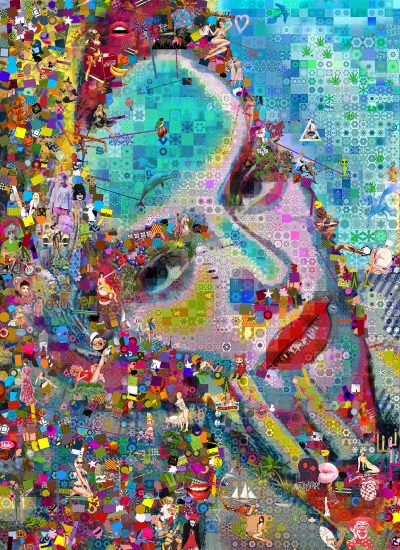 The eternal sea by john lijo bluefish buy affordable art for Buy affordable art online