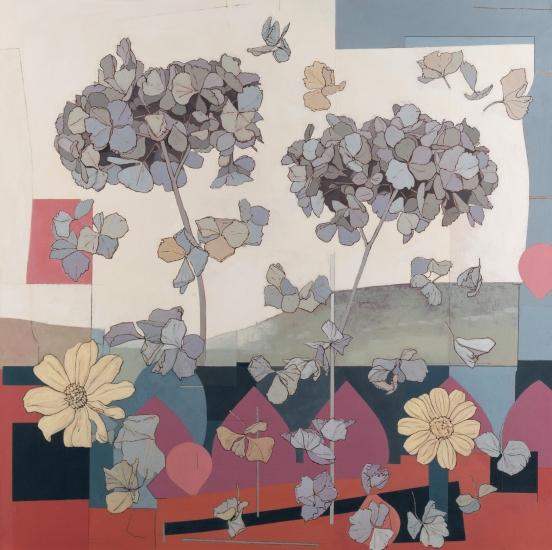 Hydrangeas by Simon M Smith