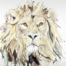 Lion II Silkscreen
