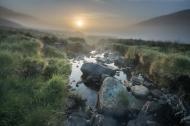 Mist at Sunrise, Snowdonia