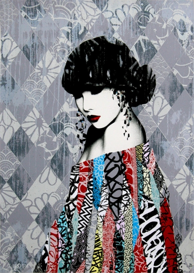 Buy Affordable Art Online Of Rouge Ii By Hush Buy Affordable Art Online Rise Art