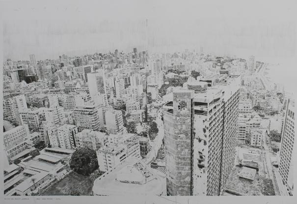 Holiday Inn, Beirut 1 by chris shaw-hughes