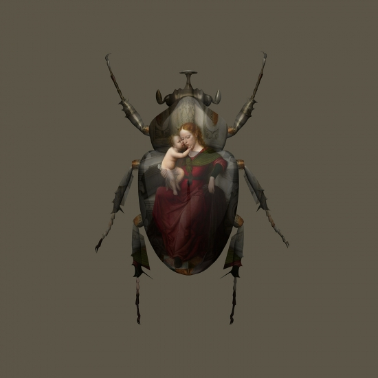 Scarab Madonna and Child IV by Magnus Gjoen