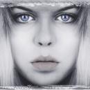 "Blue Eyes - 18"" x 12"" Fuji Print"
