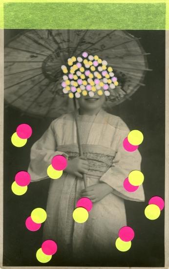 Cherry Blossom Rain by Naomi Vona
