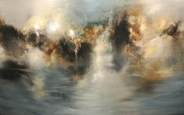 """White Shadow over the lake"" by Fernando Velazquez"