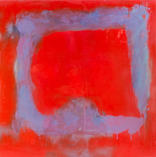 Composition in Red by Wayne Sleeth