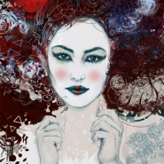 Geisha - Original Limited Edition Giclee Art Print -  signed with certificate
