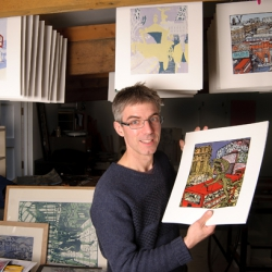 10 questions with printmaker Tobias Till