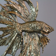Siamese Fighting Fish 'gold'
