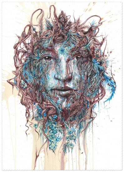 The Secret Garden by Carne Griffiths