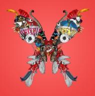 V&A Lundunar Moth - Heart Attack Pink