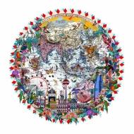 Singjandiholur Edward Stanford Mercator's 1898/2016