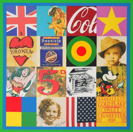 Sources Of Pop Art Iv By Sir Peter Blake Buy Affordable