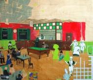 Radioactive Night Cafe