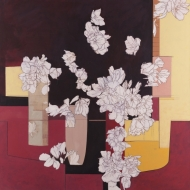 Composition with Pear Blossom
