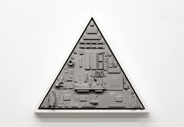 Flatland Triangle  by Robin Tarbet