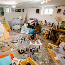 Wayne Sleeth's Modern Take on Monet