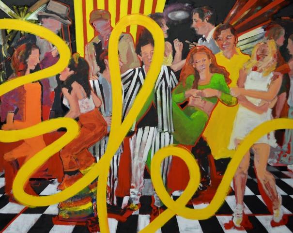 the party by Stella Kapezanou
