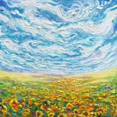 Big Sky Small Sunflowers | signed limited edition