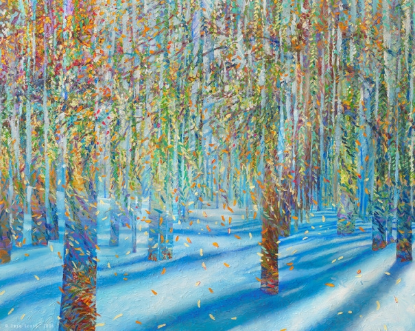 After the Snow Fell | signed limited edition prints by Iris Scott