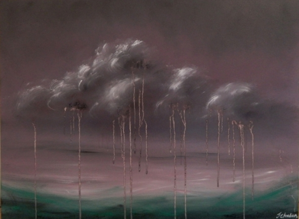 Purple Rain II by Jennifer Chandiram