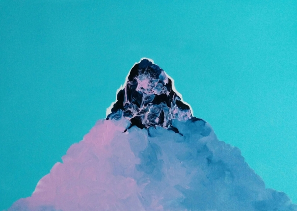 Turquoise Mountain by Grace Aza-Selinger