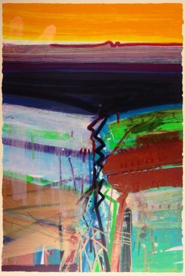 Western Boundary by Barbara Rae