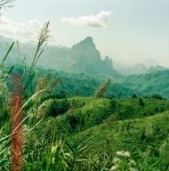 Laos mountain steps