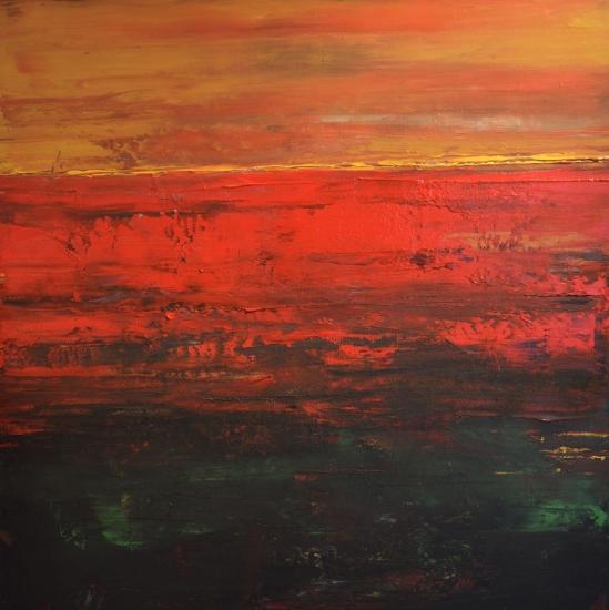 Coucher de soleil by Roseline Al Oumami