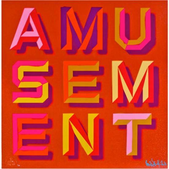 Amusement by Ben Eine
