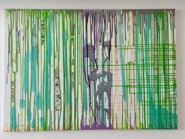 Purple rain by Julie Robertson