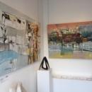 Fragments. Oksana Veber oil paintings Exhibition.