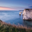 Sunrise The Pinnacles Handfast Point Jurassic Coast Dorset (152.4 x 101.6 cm)