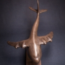 """WHANOPUS "" ( 1 of 12) Bronze resin"