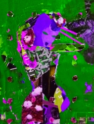 Matisse Odalisque, in the Garden