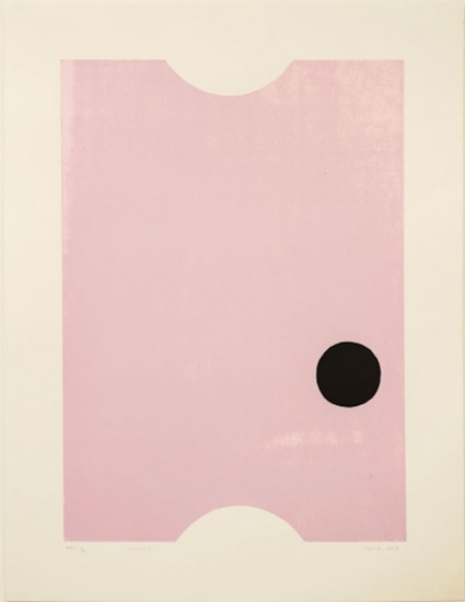 Ticket by Gary Hume
