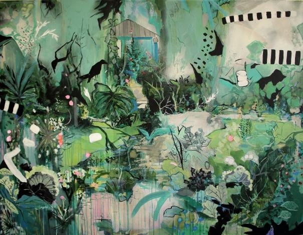 Irregular green by Edina Gulyas