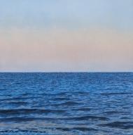Dusk At Sea.
