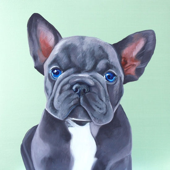 Frenchie by Victoria Heald