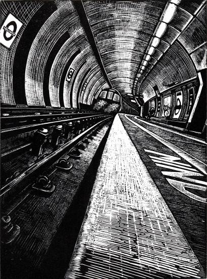 View Subterranea 9: Holborn by Rebecca Coleman