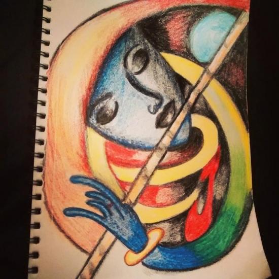 Indi_abstract by Baheti Priya