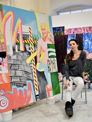 In the Studio with Stella Kapezanou