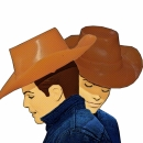 Brokeback Mountain Kens! Cowboy Love (What will Barbie say)?