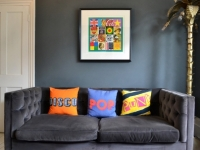 10 Times Artwork Shaped a Room's Decor