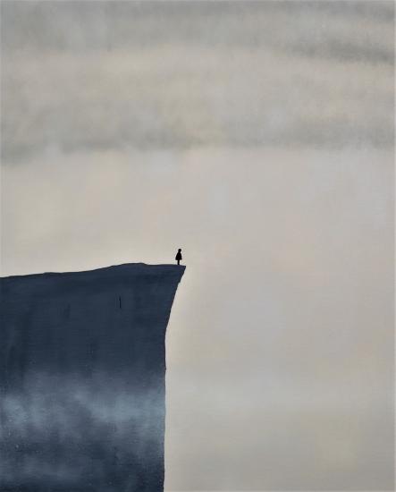 cliff by Robert Owen Bloomfield