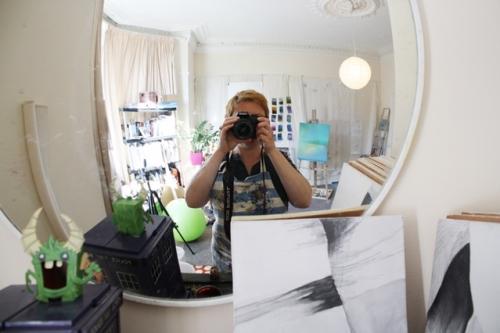 An artist's and scientist's studio