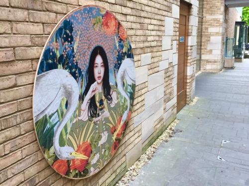 Lincoln Street Art Piece